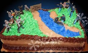 brown 1 4 sheet birthday cake from emoticakes civil war