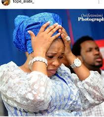 lol gospel singer tope alabi u0027s followers condemn her mode of