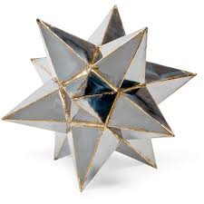 metal star home decor frattini industrial loft metal moroccan star sculpture 12 inch