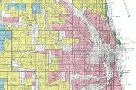 Map Chicago Suburbs by New Deal Era Maps Show Redlining And Anti Density Forces At