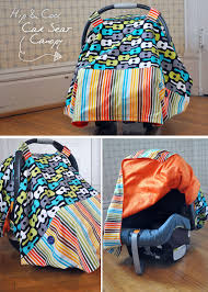 Free Carseat Canopy Pattern by The Doormouse House Diy Car Seat Canopy Success