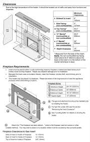 Fireplace Insert Dimensions by 616 Gas Fireplace Insert Fireplaces Pleasanton Creative Energy