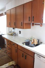 Outdated Kitchen Cabinets How To Achieve A Super Smooth Finish When Painting Old Kitchen