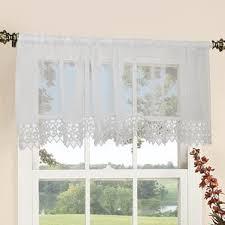 Daisy Kitchen Curtains by Lace Valances Valances U0026 Kitchen Curtains Wayfair