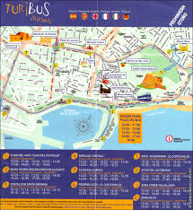 Alicante Spain Map by Excursions In Spain Alicante Attractions Tourist Bus