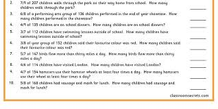 fractions of amounts problems classroom secrets