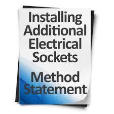 download method statement suspended ceiling installation
