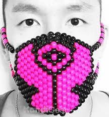 bead masks awesome kandi masks for sale online festival fanatics