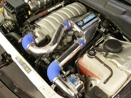 Dodge Challenger Turbo Kit - vortech superchargers diablosport cnc ported hemi intake