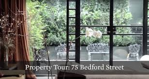 property tour glamorous old world townhouse at 75 bedford st