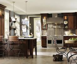 kitchen paint colors with cherry cabinets and stainless steel appliances cherry kitchen cabinets decora cabinetry