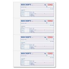 printable cash receipt book book cash receipt book template