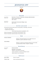 general resume example goldfish bowl resume template objectives