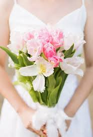 Tulip Bouquets Tulip Wedding Bouquets For Spring Brides