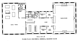 masonic lodge floor plan builder 1921 06
