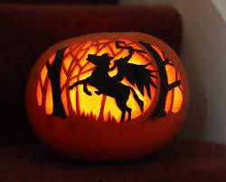 headless horseman pumpkin carving pumpkin carvings pinterest
