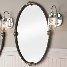 Oval Vanity Mirrors For Bathroom Bathroom U0026 Vanity Wall Mirrors Shades Of Light