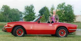 triumph spitfire history of model photo gallery and list of