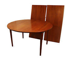 Round Teak Table And Chairs Danish Teak Dining Table Ebay