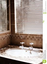 modern bathroom with blinds royalty free stock photos image 2435518