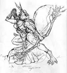 squirrel archer sketch by thesilverhyena on deviantart