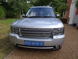 blue range rover vogue used silver land rover range rover for sale surrey