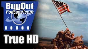 Marines Holding Flag Marines In Action On Iwo Jima 1945 Youtube