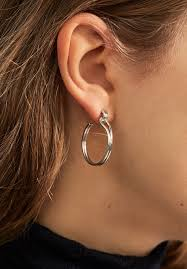 hoop earring shinola women s jewelry small lug hoop earrings shinola detroit