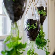 hanging herb garden indoor gardening ideas