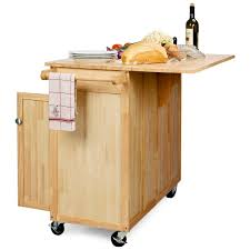 Portable Kitchen Islands With Stools The Vinton Portable Kitchen Island With Optional Stools Kitchen