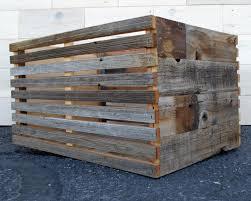 barn wood slat crate 24 x 16 x 12 aka antique reclaimed