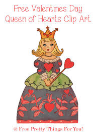 valentines day clip art queen of hearts free pretty things for you