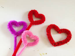 how to make a pipe cleaner heart youtube