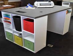 White Corner Desk Hutch by Scrapbook Desk Storage Open Shelf And Drawer Hutch 4 Book Shelf
