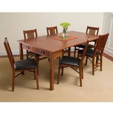 Mission Style Dining Room Table by The Mission Style Console To Card To Dinner Table Hammacher