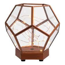 terrarium table ashley lifestyles lantern terrarium table decor