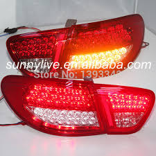 2010 hyundai elantra tail light assembly for hyundai avante elantra led tail l 2006 to 2010 year red white