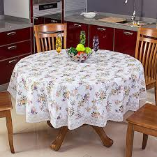 round table cloth covers pvc table covers at rs 75 piece nabi karim new delhi id