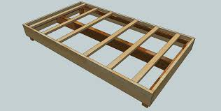 simple twin platform bed plan nortwest woodworking how to build a