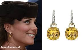 kate middleton diamond earrings kate middleton duchess of cambridge cheltenham 2103 march 15