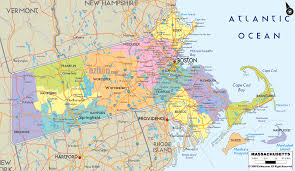 Franklin Ma Map Massachusetts Geographical Map Maps Pinterest Massachusetts