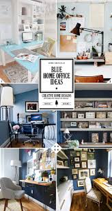 Home Design Ideas And Photos Best 25 Blue Home Offices Ideas On Pinterest Offices Blue Home