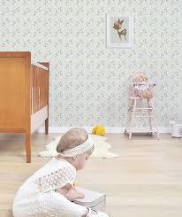 poster chambre fille affiche chambre d enfant faon et fleurs lilipinso
