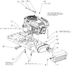 mtd 13w878st031 lt 4600 2016 parts diagram for engine accessories