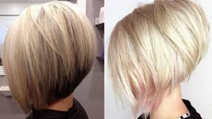 how to cut hair in a stacked bob really trending short stacked bob haircut ideas youtube