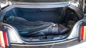 2015 mustang source golf bags in ecoboost premium trunk the mustang source ford