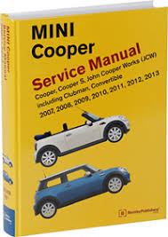 mini cooper service manual 2007 2013 bentley publishers