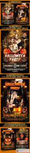 kids halloween party flyers halloween flyer bundle 13036572 free download photoshop vector