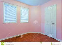 Empty Bedroom Wall Empty Bedroom In Pink Color Stock Photo Image 62655264