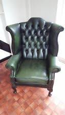 Chesterfield Wing Armchair Chesterfield Wingback Armchairs Ebay